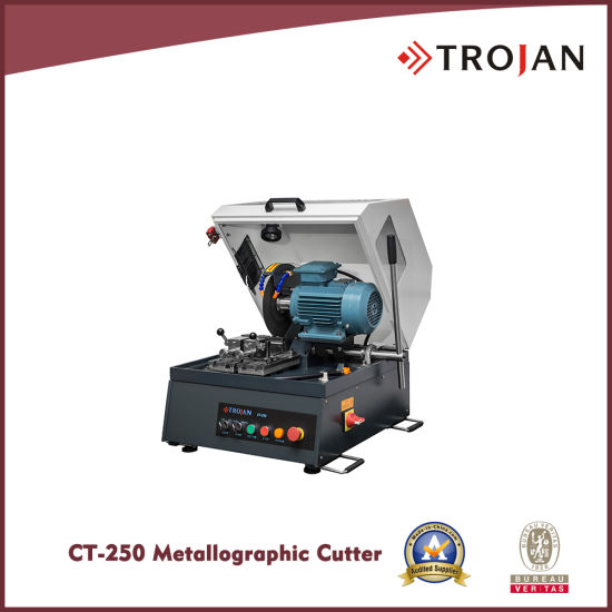 CT 250 Manual Metallographic Abrasive Saw Cutter Made in China