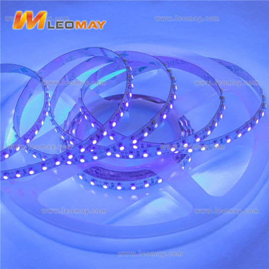 UL listed SMD3528 9.6W LED strips 120LEDs/m DC12V pictures & photos