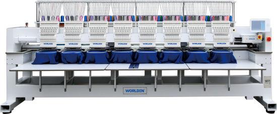 Wd-1508c Computerized High Speed Servo Cap Embroidery Machine