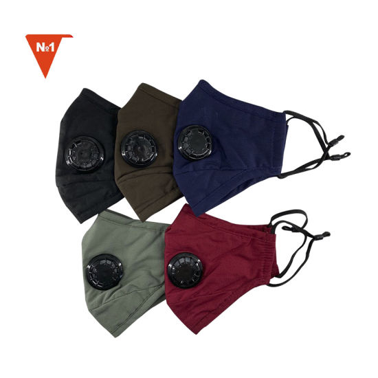 Washable Air Pollution Activated Carbon Filter Mesh Sport Mask with KN95 Filter