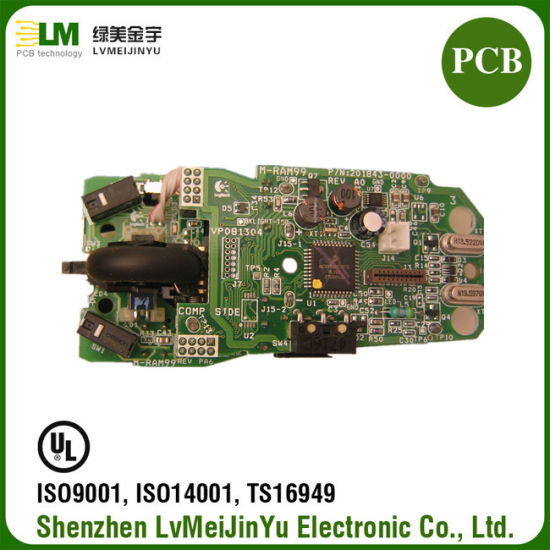 Electronic Bluetooth Mouse PCB Circuit Board with RoHS PCB Manufacturer