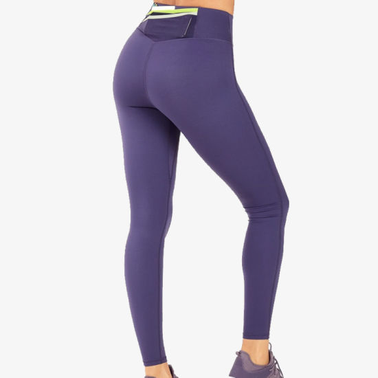 Custom Logo Design Workout Women Leggings Yoga Pants with Pockets