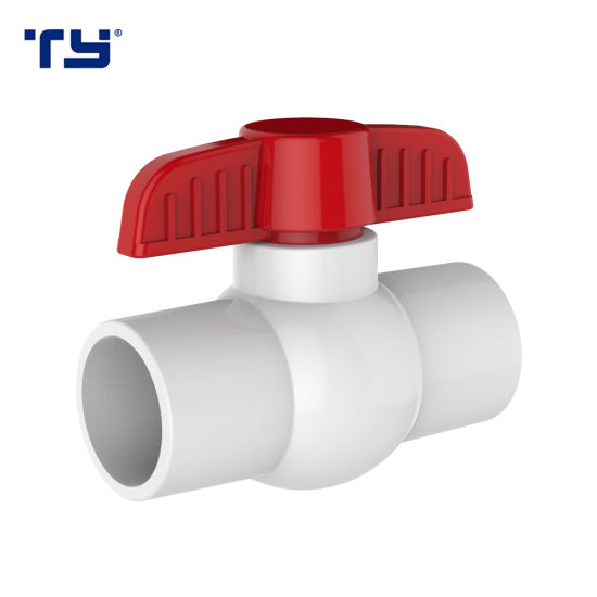 PVC Water Supply Pipes & Fittings Compact Ball Valve (SOCKET) NSF