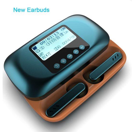 Factory Bluetooth Mini Earphone Stereo Sport Earbuds Mobile Wireless Earphones