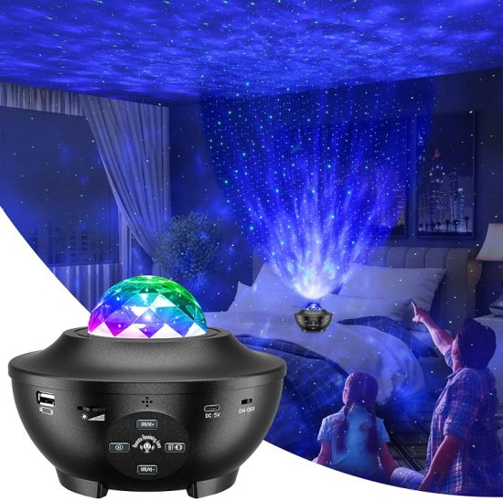 Night Light Projector 3 in 1 Galaxy Projector Star LED Light