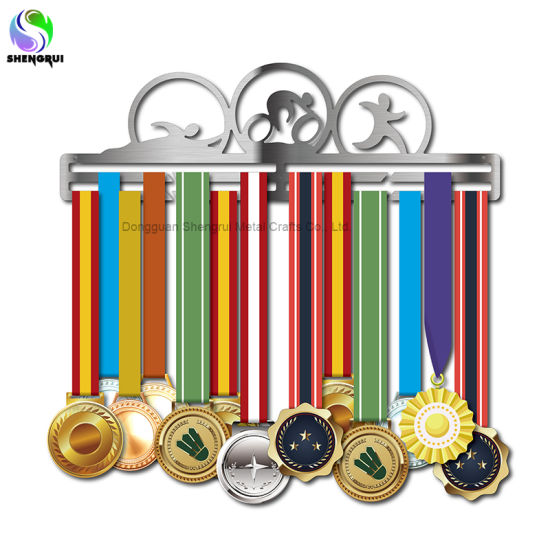 Personalized Metal Medal Hanger Customzied Medal Display Holder for Sport Lovers Gift
