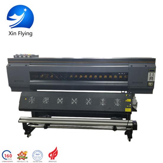 4720 Head Digital Printer Sofa Cloth Calender Sublimation Machine for Textile