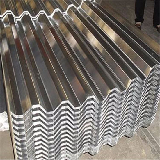 Types of Corrugated Roofing Sheet with Standard Export Package