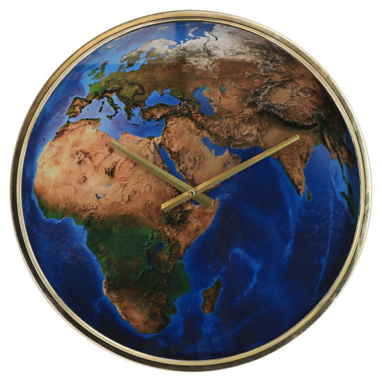 Electroplate Wall Clock Middle East 3D Sense of Design (EA19410)