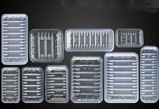 High Quality Clear Plastic Fresh Vegetable Tray