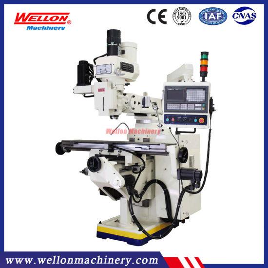 Turret CNC Milling Machine Xk6323A Xk6325 Xk6330 (CNC Turret milling machine)