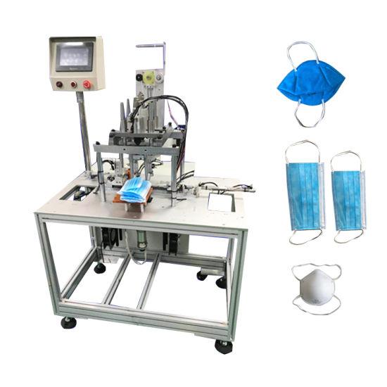 China Ultrasonic Spot Welder for Mask Earband Welding - China Face Mask  Belt Welding Machine, Earloop Welding Machine for Face Mask