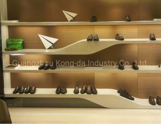 Tailor Made Design Shoe Display Shelf Wall Shoes Display Cabinet China Display Cabinet And Display Shelf Price Made In China Com