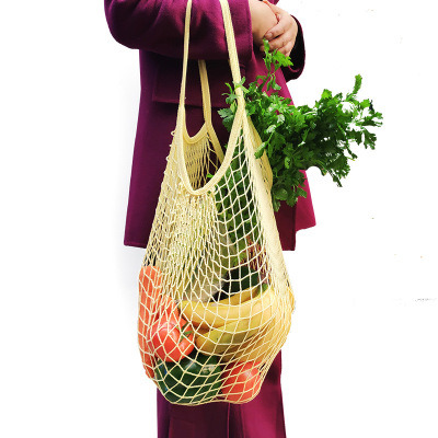 Top Selling Promotional Globally Popular Netting Fruit and Vegetables Supermarket Bags