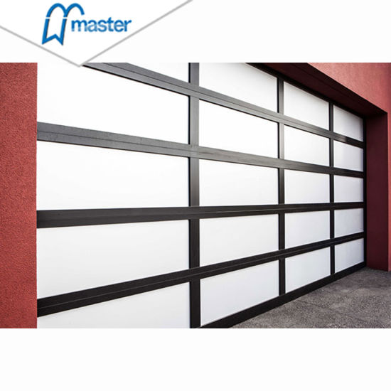 China High Quality Stronger Glass Garage Door 10x7 With All Window China Stronger Glass Garage Door All Window Garage Door