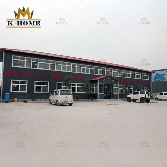 Affordable Two Story Steel Frame House Sandwich Panel House Design