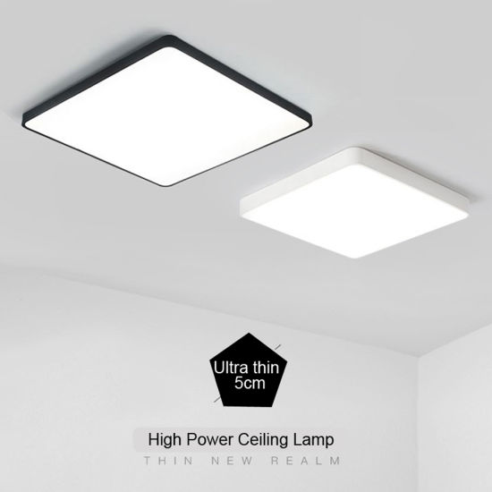 Modern LED Ceiling Lights Ultra-Thin 5cm Fixtures LED for Living Room Bedroom Kitchen Hall Square / Round Ceiling Lamp