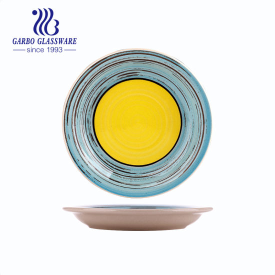 Ceramic Plate Ceramic Dinnerware Porcelain Kitchenware Porcelain Plate Eco Party Table Utensils pictures & photos