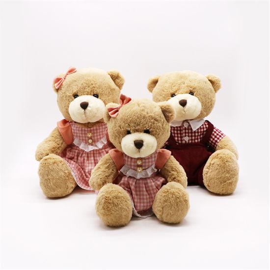 New Design Brown Plush Toy Teddy Bear