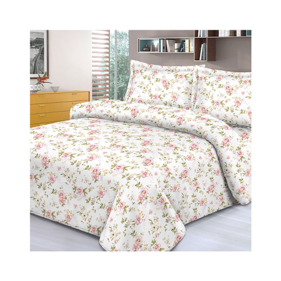 Hot Sell Beautiful Printing 100% Polyester Microfiber Bedsheet Textiles Fabrics