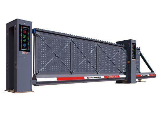 Customized Industrial Aluminum Alloy Electric Sliding Garden Auto Gate