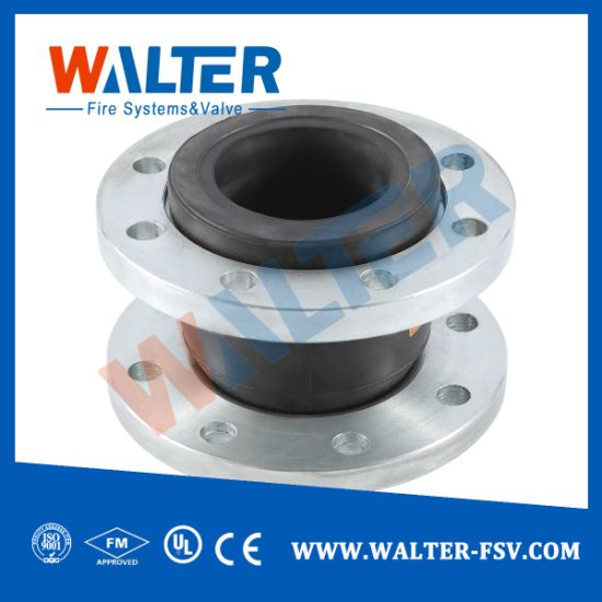 Rubber Bellows Pipe Joint Flexible Rubber Coupling with Flange