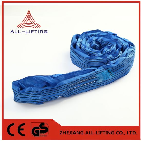 8t Polyester for Lifting Round Sling