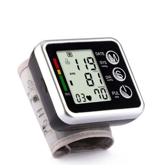 Professional Medical Wrist Digital Blood Pressure Monitor for Home