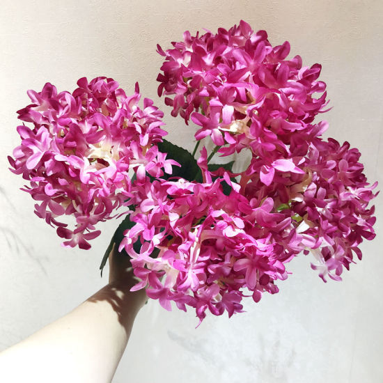 China 5 head wholesale high quality fake hydrangea artificial silk 5 head wholesale high quality fake hydrangea artificial silk flowers mightylinksfo