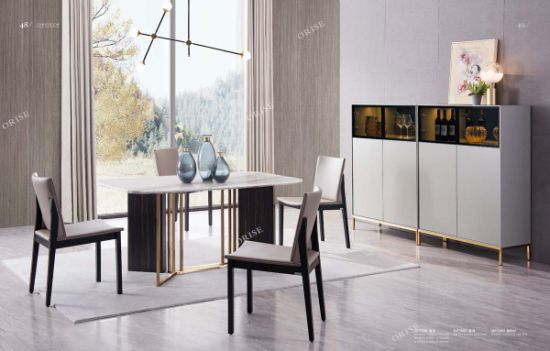 Best Selling Dining Room Furniture Marble Dining Table