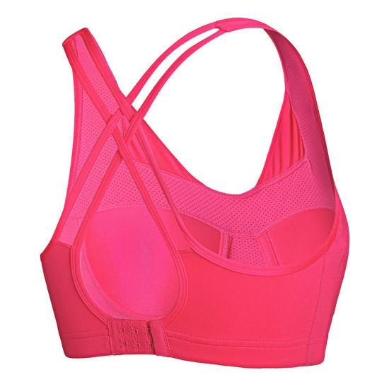 Factory Wholesale 2018 Fashion Fitness Yoga Wear Women Padded Sexy Seamless Sports Bra