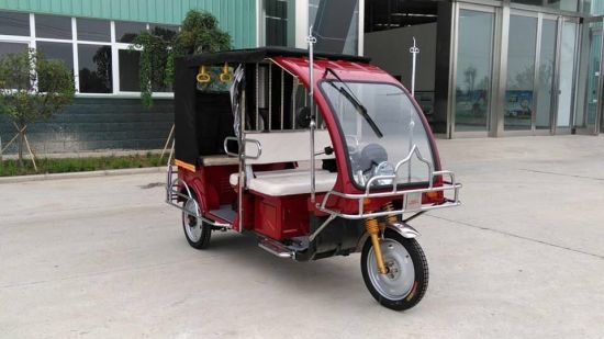 2018 Bangladesh Style Electric Passenger Tricycle for Taxi