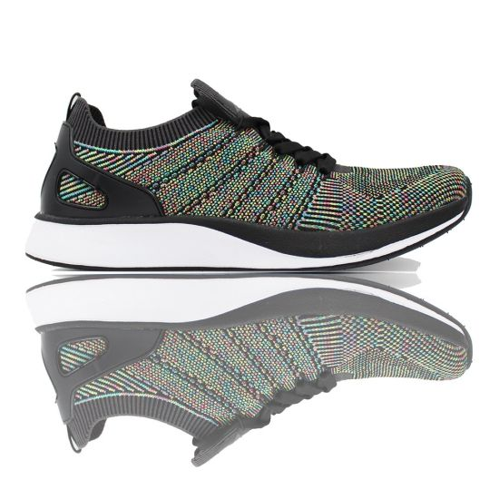 Men Sports Sock Fabric Elastic Used Casual Breathable Running Male Female Men Flyknit Knitted Upper Knit Shoes