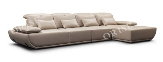 High Quality Home Furniture Leather Couch for Living Room