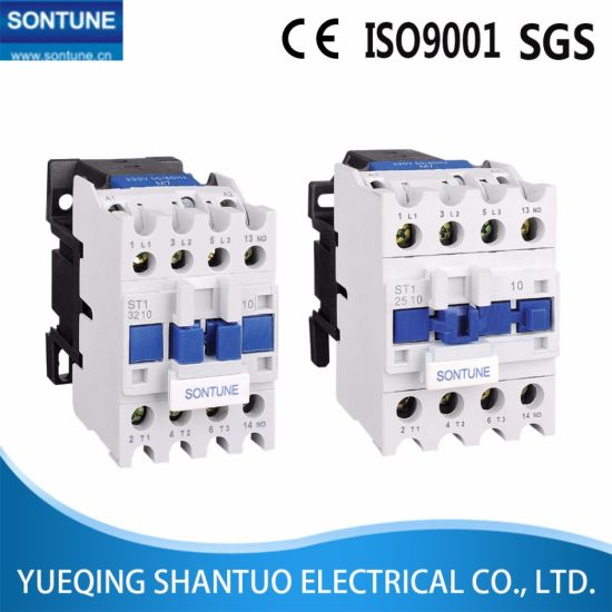 LC1-D Contactor PE New Types of AC Contactor High Quality Remodel Chint