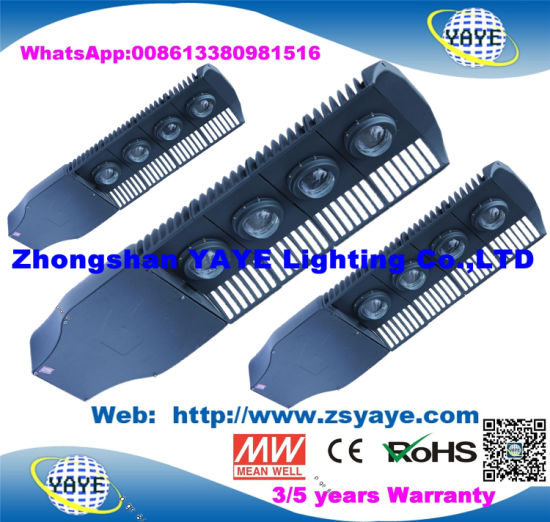 Yaye 18 Hot Sell Ce/RoHS 2/3/5 Years Warranty 100W/150W/200W LED Street Light/ Street LED Lighting for Government Order