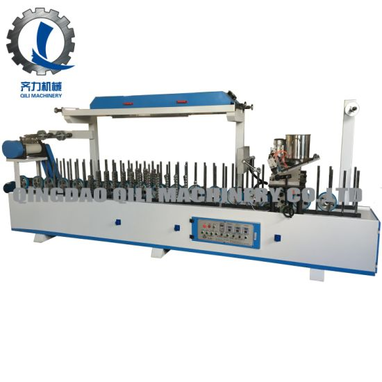 MDF Profile Wrapping Machine with Hot and Cold Glue