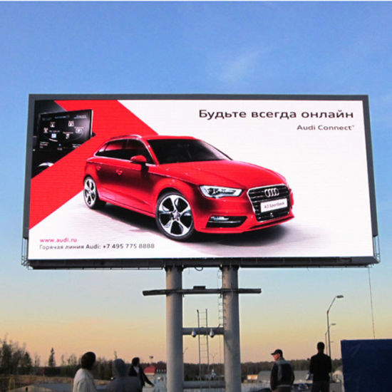 Advertising LED Screen HD P10 Outdoor Full Color pictures & photos
