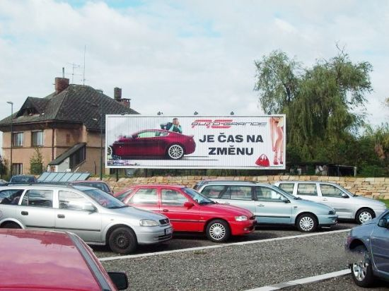 Roadside Jumbo Size Advertising Tri-Vision Billboard for Parking Ground