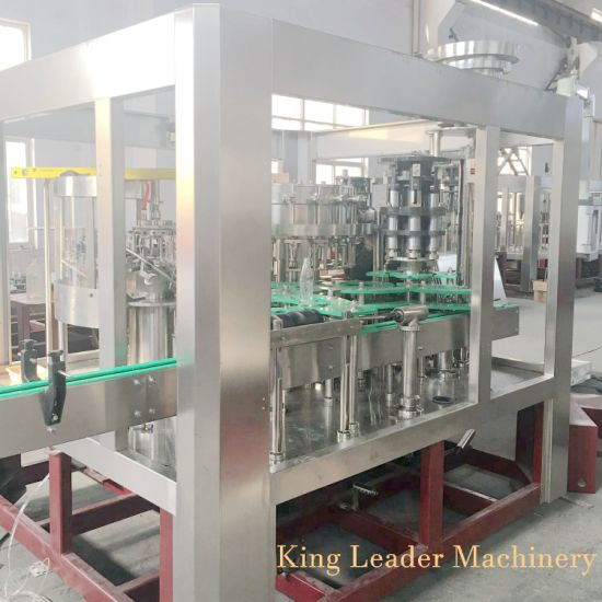 Beer Filling Machine Double Vacuum Technology Glass Bottle