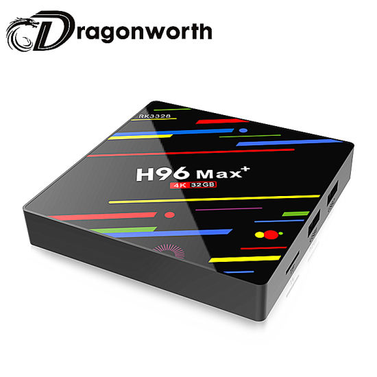 H96 Max Box Packaging Android HD Video Rk3328 32g Android with System 1080P 4K TV Box pictures & photos