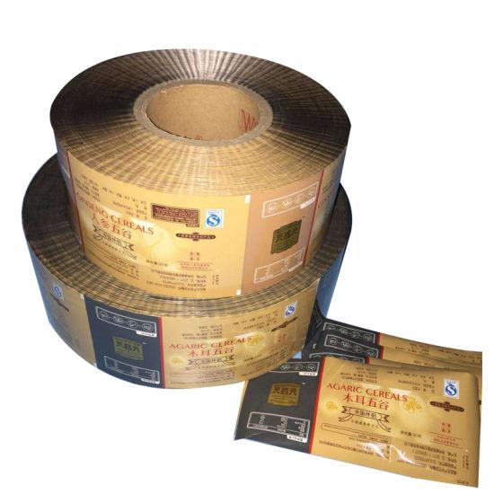 Customized Design Food Grade Plastic Composite Packaging Film