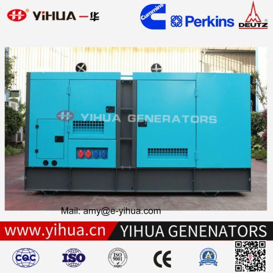 Ce/ISO Power 25kVA-250kVA Silent Soundproof Electric Cummins Engine Diesel Generator