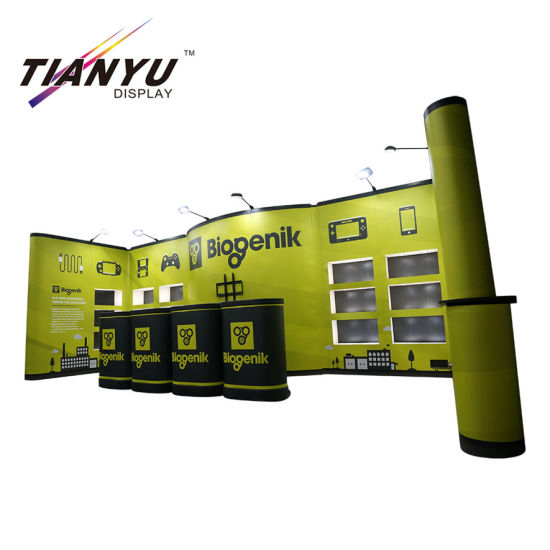 Durable Easy Install PVC Pop up Backdrop Tradeshow Booth