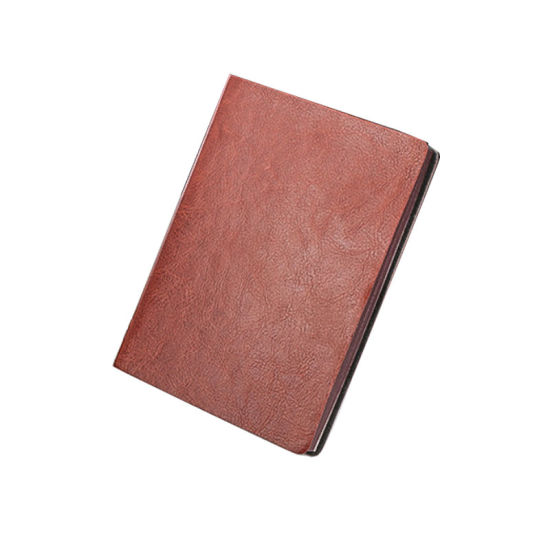 Promotion/Office Custom Glue Binding A5/A6 PU Leather Notebook