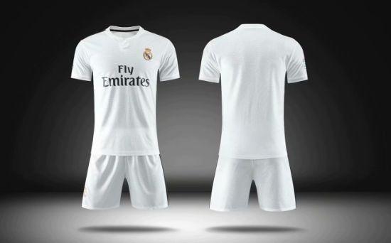 77529154578 Factory Wholesale Customize 2018 19 Club Cheap Football Uniforms Shirt  Marker Soccer Jersey