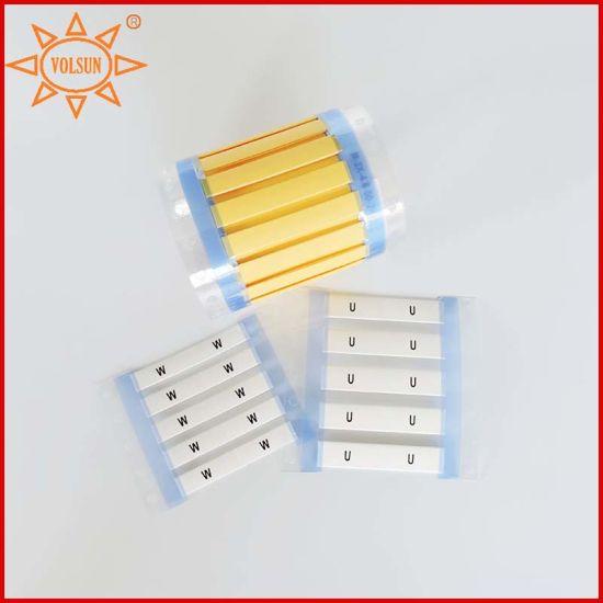 Pe Material China Printable Heat Shrink Marker Sleeves