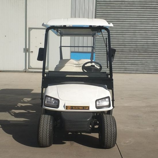 6 Seater 48V Electric Power Golf Car with Ce Certification