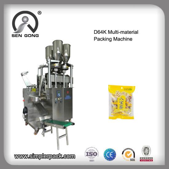 Wholesale D64K Automatic Multi-Materials Flat Bag Filling Packaging Machine
