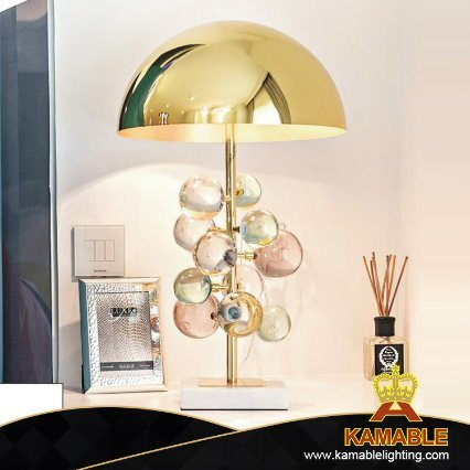 Modern Decorative Colorful Glass Table Lamp (KAGT3150-1)